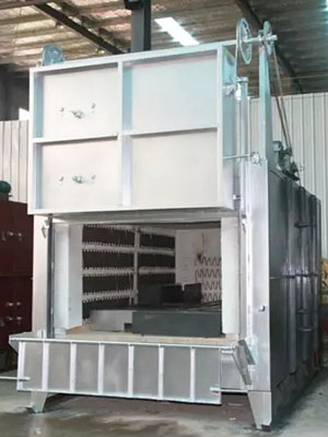Recommended method of operating box furnace