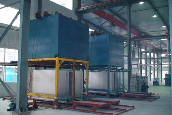 Aluminum alloy rapid quenching furnace