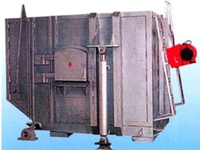 江苏Tilting oil fired furnace for aluminum melting