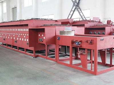 Roller type net belt quenching furnace