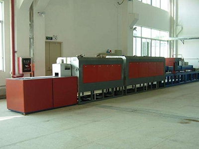 Sintering furnace for powder metallurgy iron copper based products