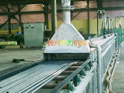 Stainless steel bright furnace with mesh belt