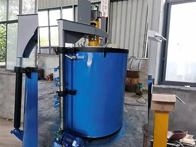pit gas carburizing furnace